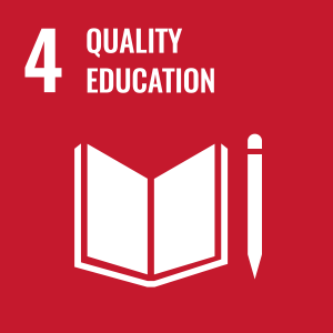 Icon for Sustainable Development Goal 4: Quality Education