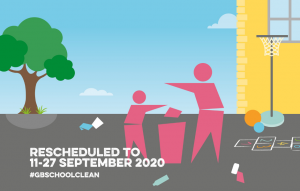 Great British September School Clean 2020 banner