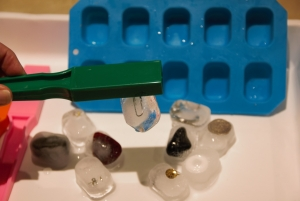 Ice Magnets - a fun activity for investigating magnetism with KS1 children