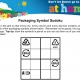 An image of packaging symbol Sudoku activity