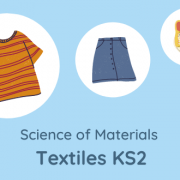 Activity Icon Science of Materials Textiles KS2