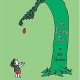 Book cover of The Giving Tree by Shel Silverstein