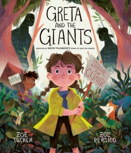 Book cover for Greta and the Giants by Zoe Tucker and Zoe Persico