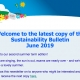 Sustainability Bulletin June 2019